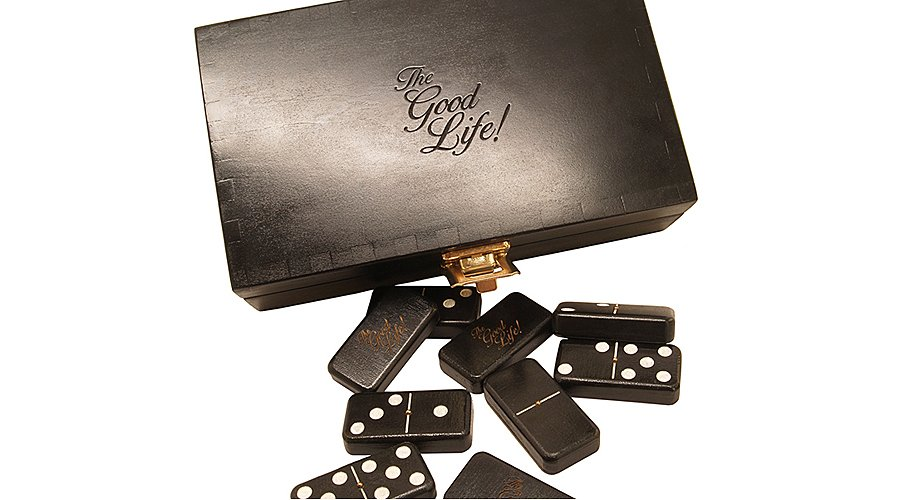 Good Wood Dominospiel: Gutes Holz, gutes Leben