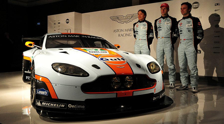 Aston Martin Vantage GTE: 2012 programme and new car revealed in London