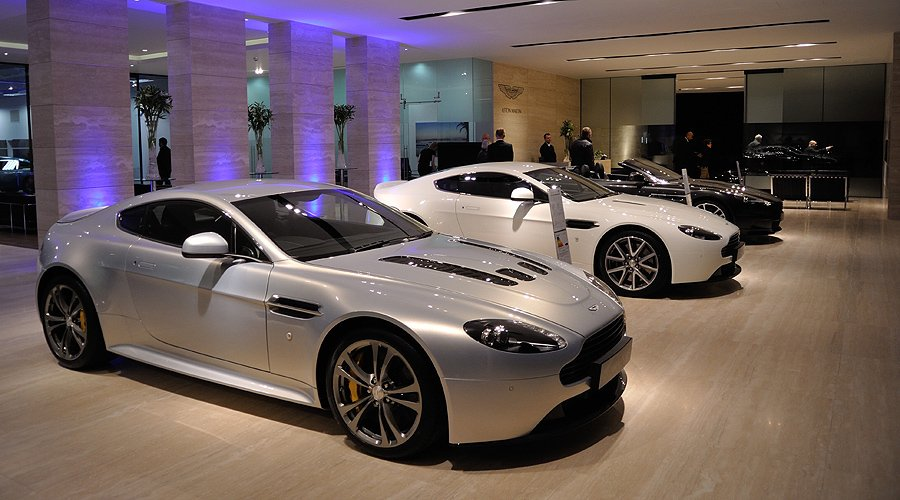 Aston Martin Works: Grand Opening, 3 May 2012