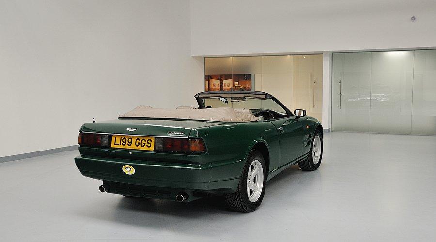 Driven: Aston Martin Virage Volante 6.3-Litre