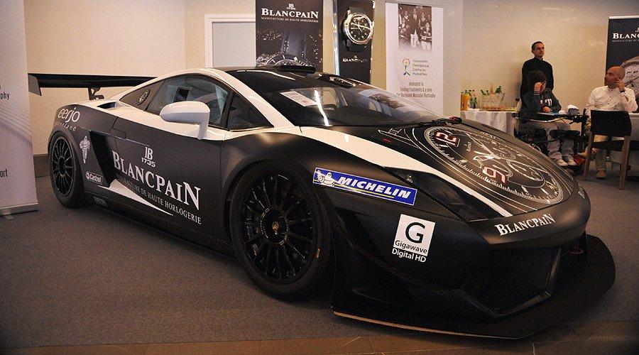 Charity-Auktion in Monaco: Renn-Lamborghini bringt 155.000 Euro