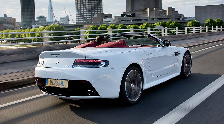 Aston Martin V12 Roadster: Limited edition for selected markets worldwide