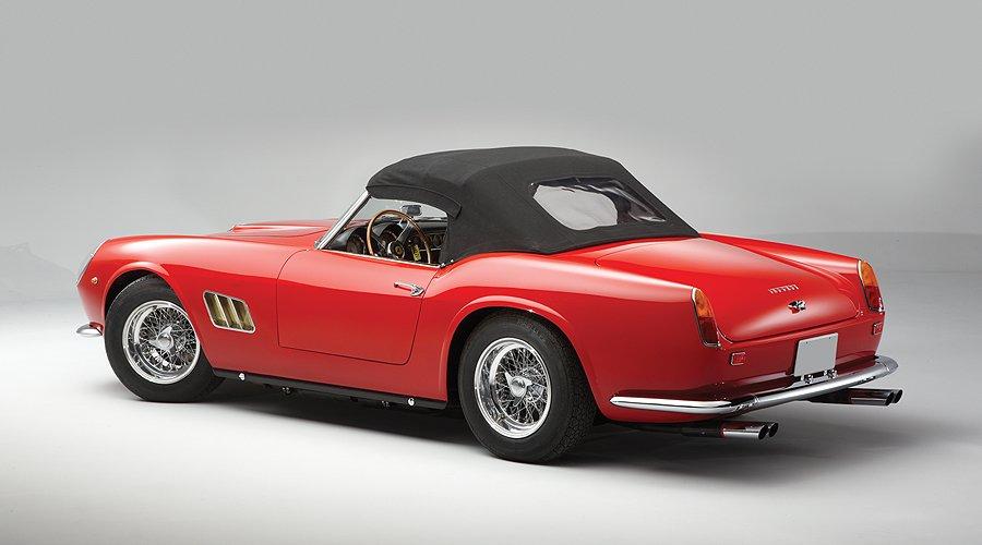 Last-Minute-Highlight bei RM in Monterey: Ferrari 250 GT SWB California Spider