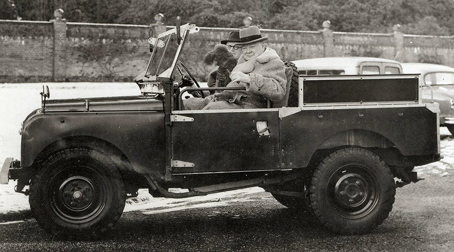 Winston Churchill's Land Rover Comes to Auction