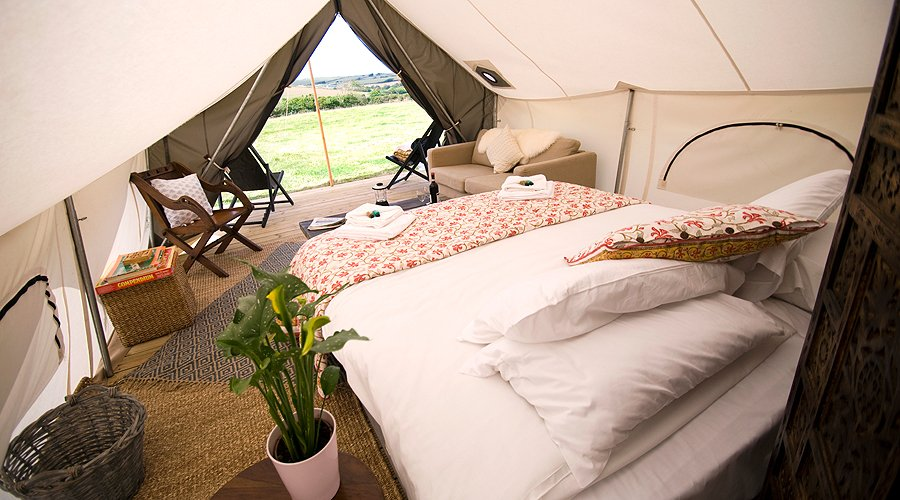 'Glamping' at Goodwood: Pop-up hotels for Revival