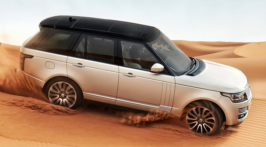 Official: First pictures and details of 2013 Range Rover