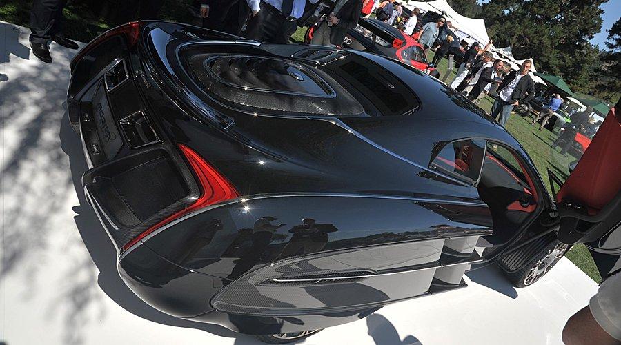 McLaren X-1 Revealed at 'The Quail'