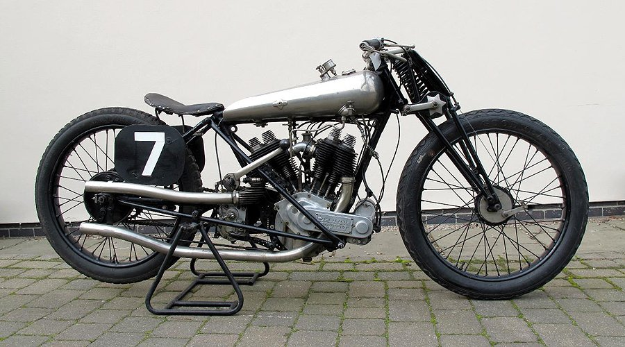 'Old Bill', George Brough's own 1922 racing SS80, sells for £291,200