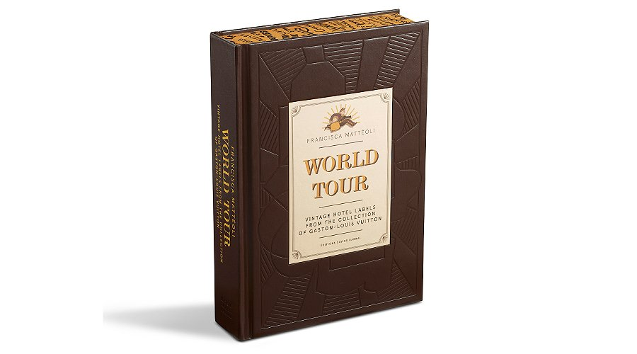 Gentleman's Library: Louis Vuitton World Tour travel book