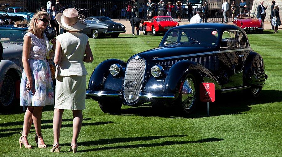 Die 60 besten Automobile der Welt beim Windsor Castle Concours