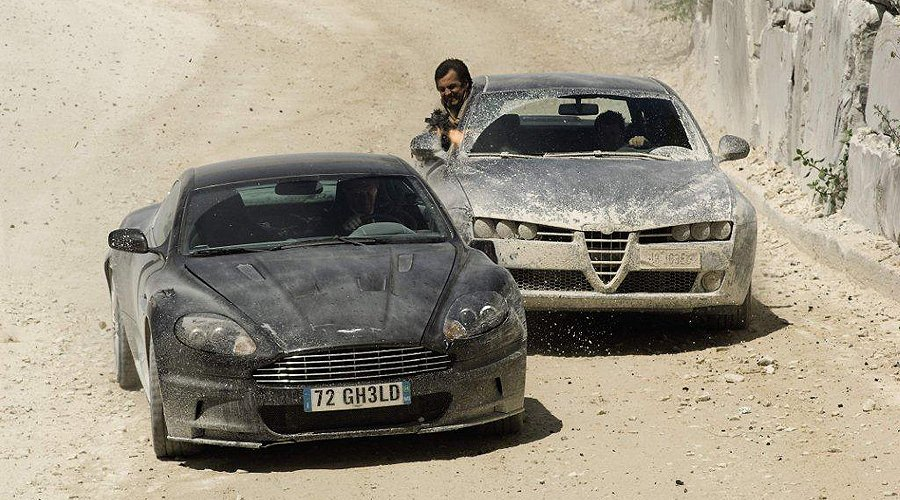 One of Seven for 007: Bond's DBS from 'Quantum of Solace' to go under the hammer