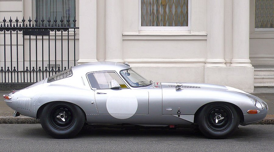 Jaguar E-Type 3.8 SI 'Low Drag Coupé'