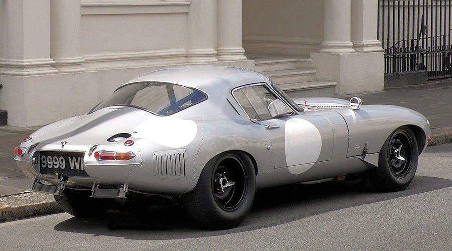 Jaguar e type low drag