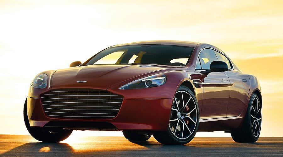 The New 550bhp Aston Martin Rapide S