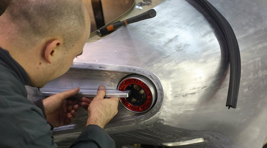 Building the New Carrozzeria Touring Disco Volante: Part 2