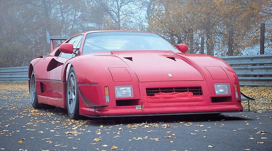 Too Fast to Race – Ferrari 288 GTO Evoluzione