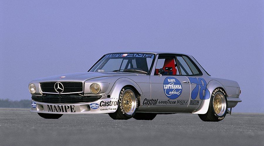 Mercedes benz 450 slc amg mampe tourenwagen dampfhammer for Mercedes benz race car