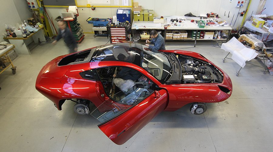 Building the New Carrozzeria Touring Disco Volante: Part 3