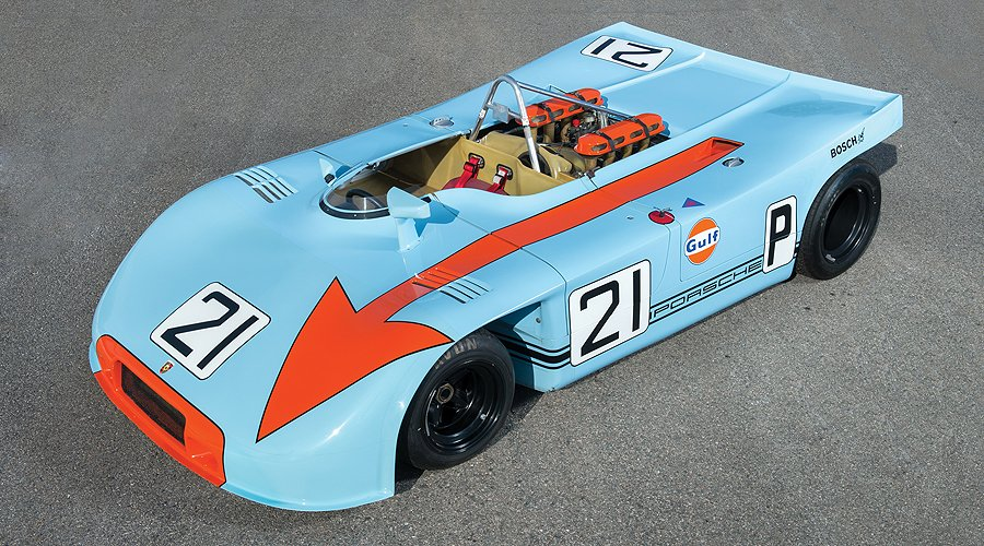Porsche's King of the 'Ring: The 908/3