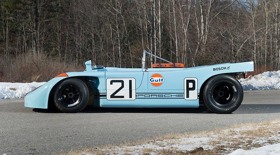 Porsche 908/3: Aus Kurven werden Geraden, aus Steigungen Ebenen