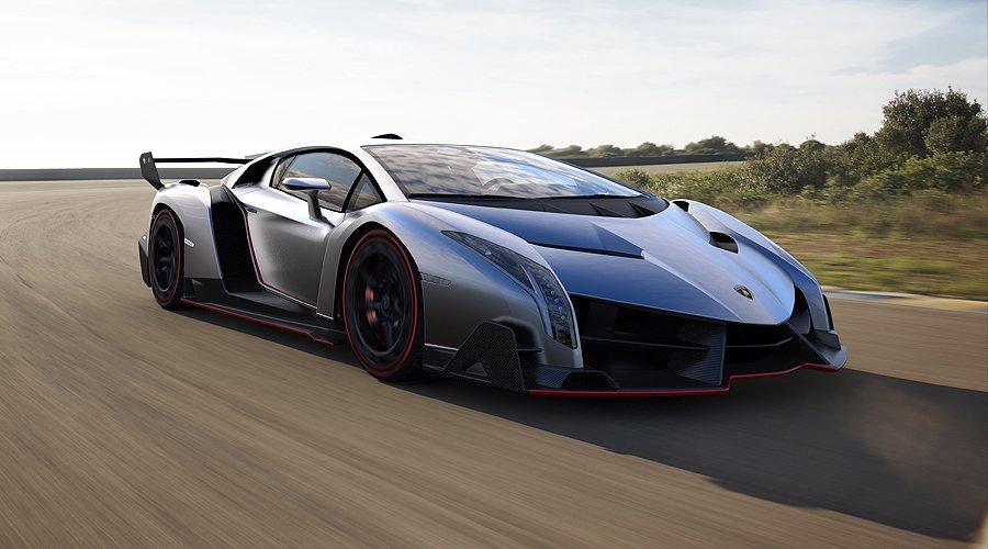 Lamborghini Veneno: Grauer Stier verleiht Flügel