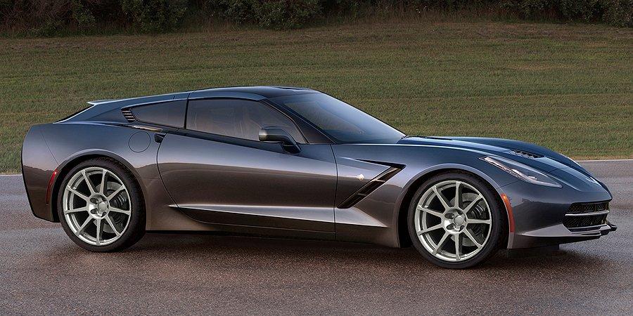Callaway's Chevrolet Corvette-based 'Aerobrake Concept'