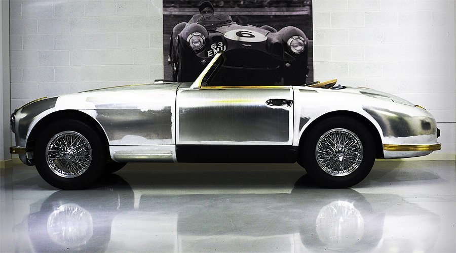 As Featured in 'The Birds': Aston Martin DB2/4 Drophead Coupé
