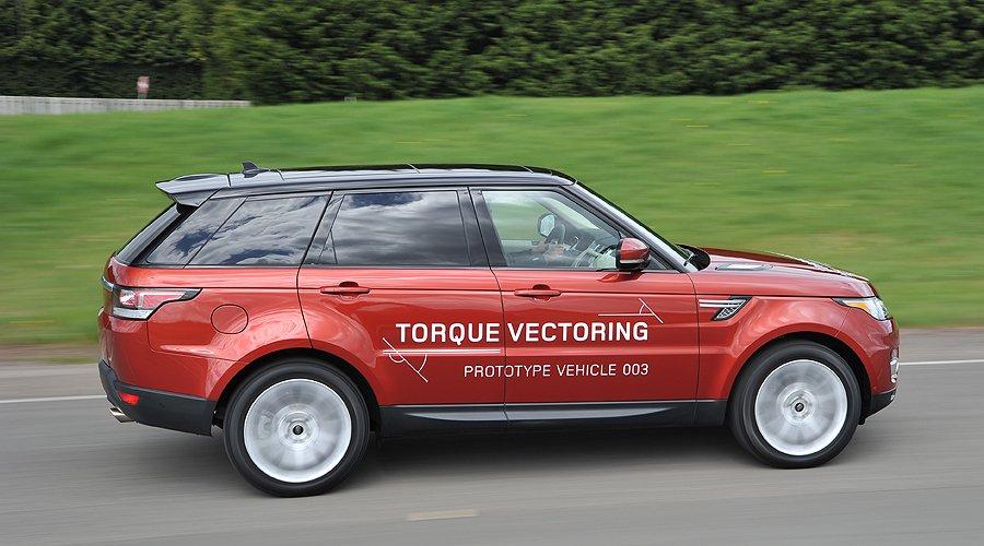 Exklusive Prototypenfahrt im neuen Range Rover Sport