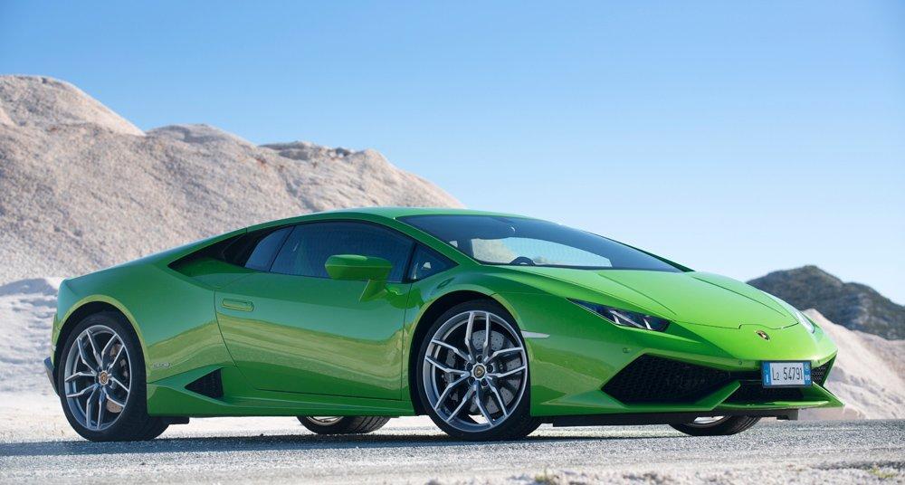 Lamborghini Huracan, une supercar hyper agressive