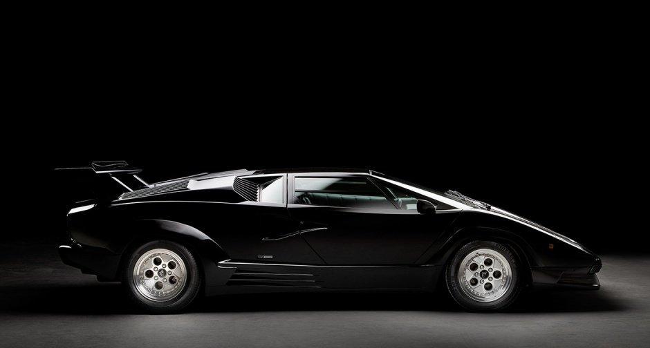 Trader S Timewarp Delivery Mileage Lamborghini Countach