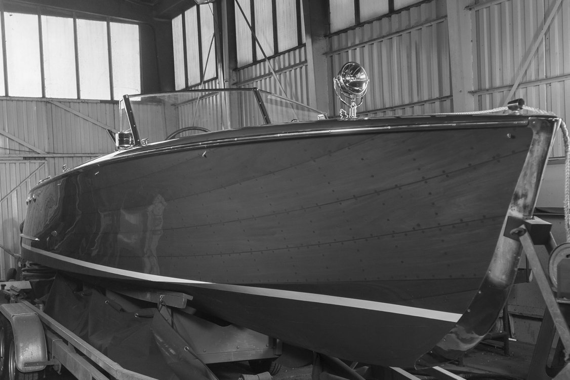 A Nautical Barn Find The Yard Of The Forgotten Wood Boats