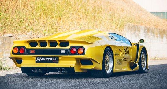 Lamborghini Diablo Gt1 Idee D Image De Voiture