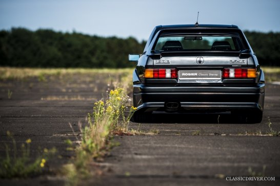 This Mercedes 190E is perfect proof for the evolution of