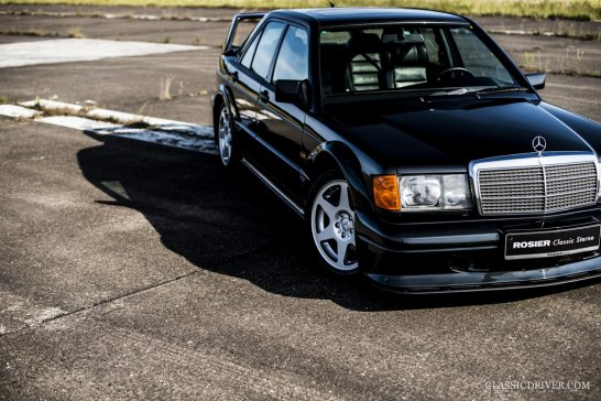This Mercedes 190E is perfect proof for the evolution of species