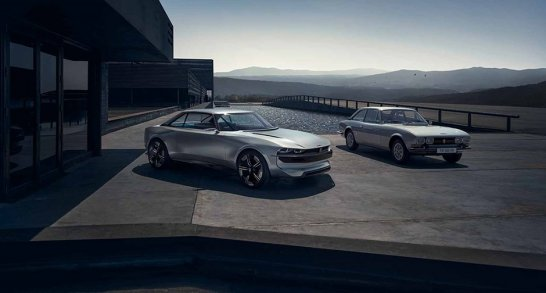 The Peugeot 504 Reincarnated As The All Electric E Legend Concept