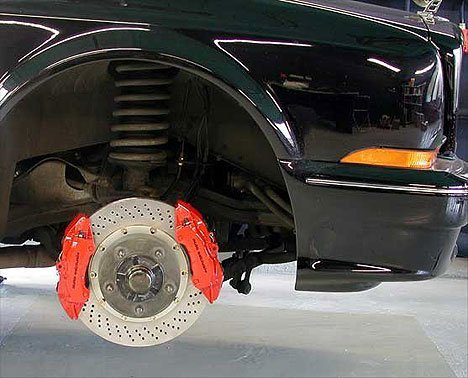 MOV`IT: F1-Bremsentechnologie für die Straße.