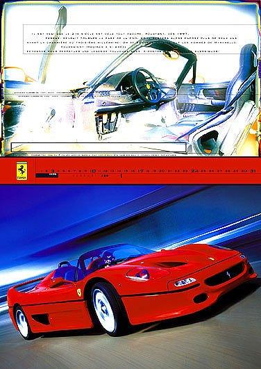 Official Ferrari Calendar 2003