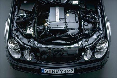 Mercedes-Benz E-Klasse: Drei neue Hightech-Motoren