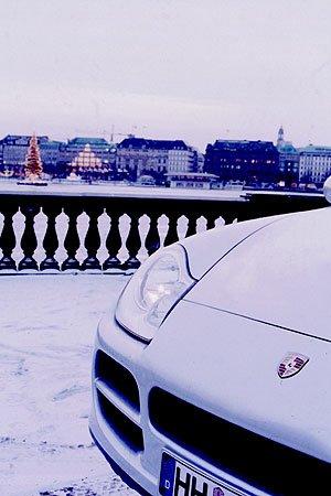 Porsche im Gelände: Weihnachten der dritten Art