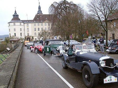 3. Langenburg-Classic – eine fürstliche Rallye