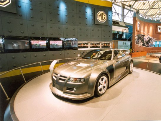 Internationale Automobilausstellung in Amsterdam – AutoRAI 2003