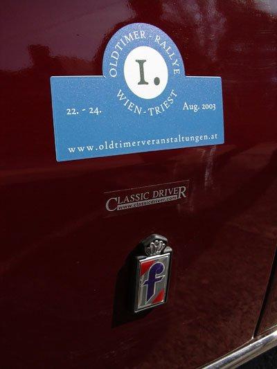 Die 1. Oldtimer Rallye Wien - Triest steht vor der Tür