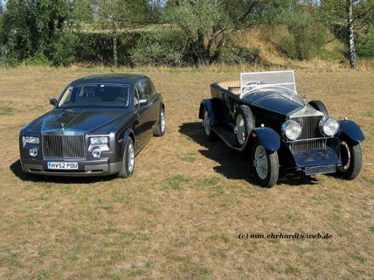 Experiences with the new Rolls-Royce Phantom
