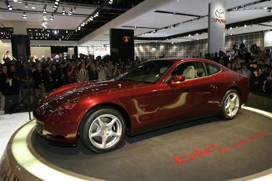 Ferrari 612 Scaglietti debuts at Detroit