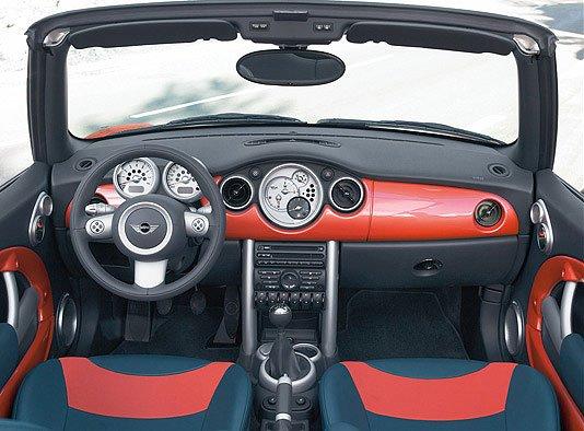 Mini Cabriolet auf dem Genfer Automobilsalon 2004