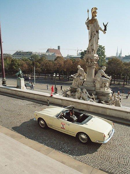 """Rallye """"Mille Grazie"""" und """"24 heures de Vienne"""""""