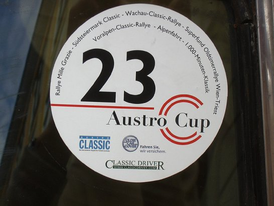 Austro Cup 2004 – 7 Oldtimerveranstaltungen quer durch Österreich
