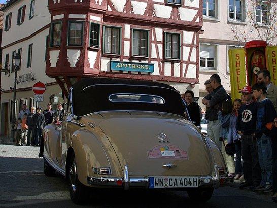 """Rückblick: Begeisterte Zuschauer und Teilnehmer bei der """"Langenburg Classic"""" 2004"""