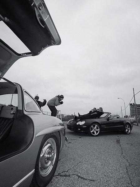Mercedes-Benz 300 SL & Leica M3: Legenden in New York