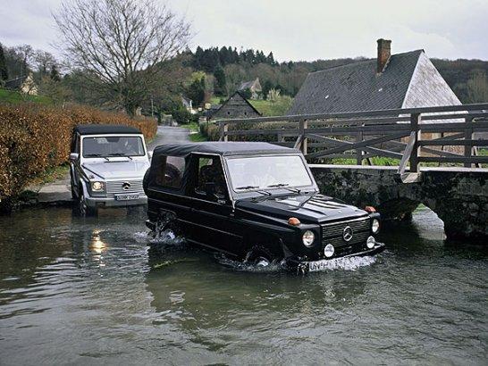 Mercedes-Benz G-Klasse: Seit 25 Jahren über Stock und Stein